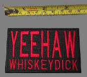 YEEHAW WHISKEYDICK PATCH